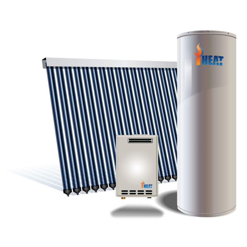 iHeat solar hot water - Evacuated Tubes