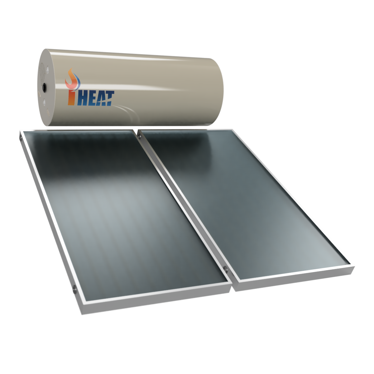 iHeat Solar Hot Water Roof Mount